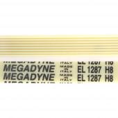 Ремень 1287 H8 длина 1222 мм megadyne