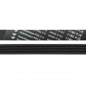 Ремень для стиральных машин 1180 J4, черный, optibelt, длина 1075 мм