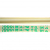 Ремень длина 1155 мм, цвет белый, резиновый, для стиральных машин.