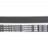 Ремень модель 1288, тип сечения J5, L-1245мм, черный