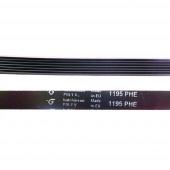 Ремень 1195 H7 длина 1123 мм черный, Hutchinson